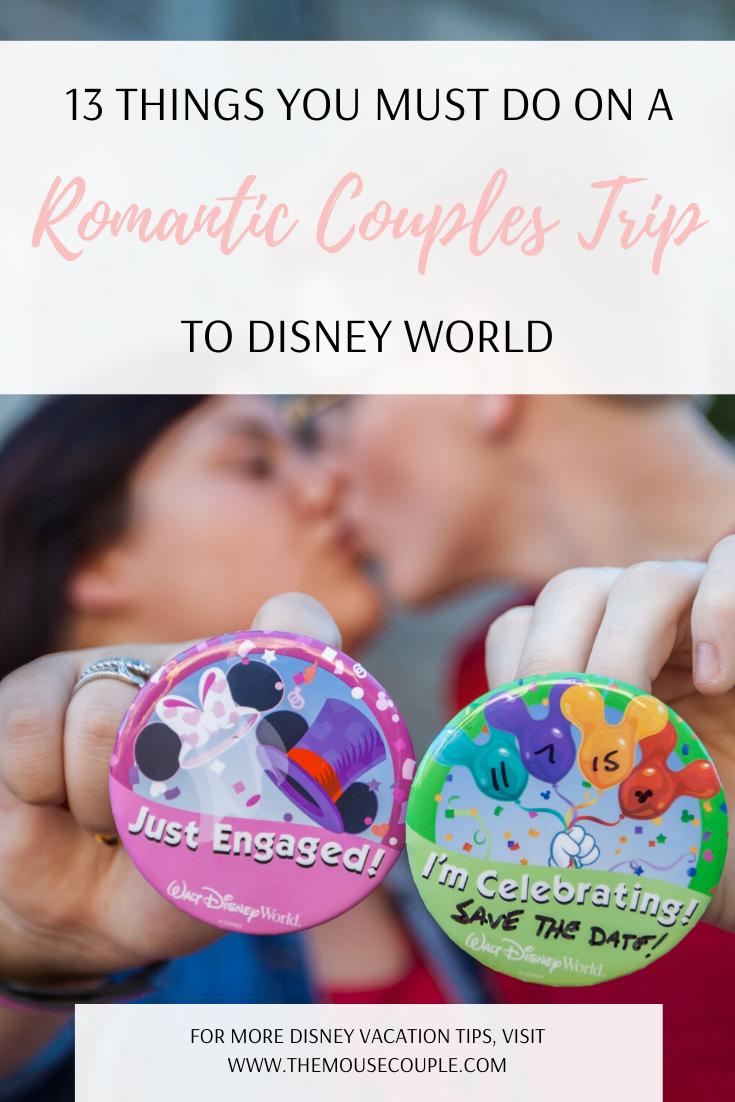 couples trip to disney world