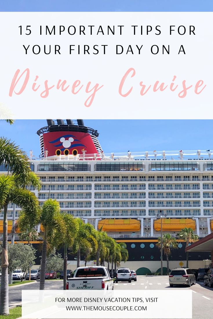 first day on a disney cruise