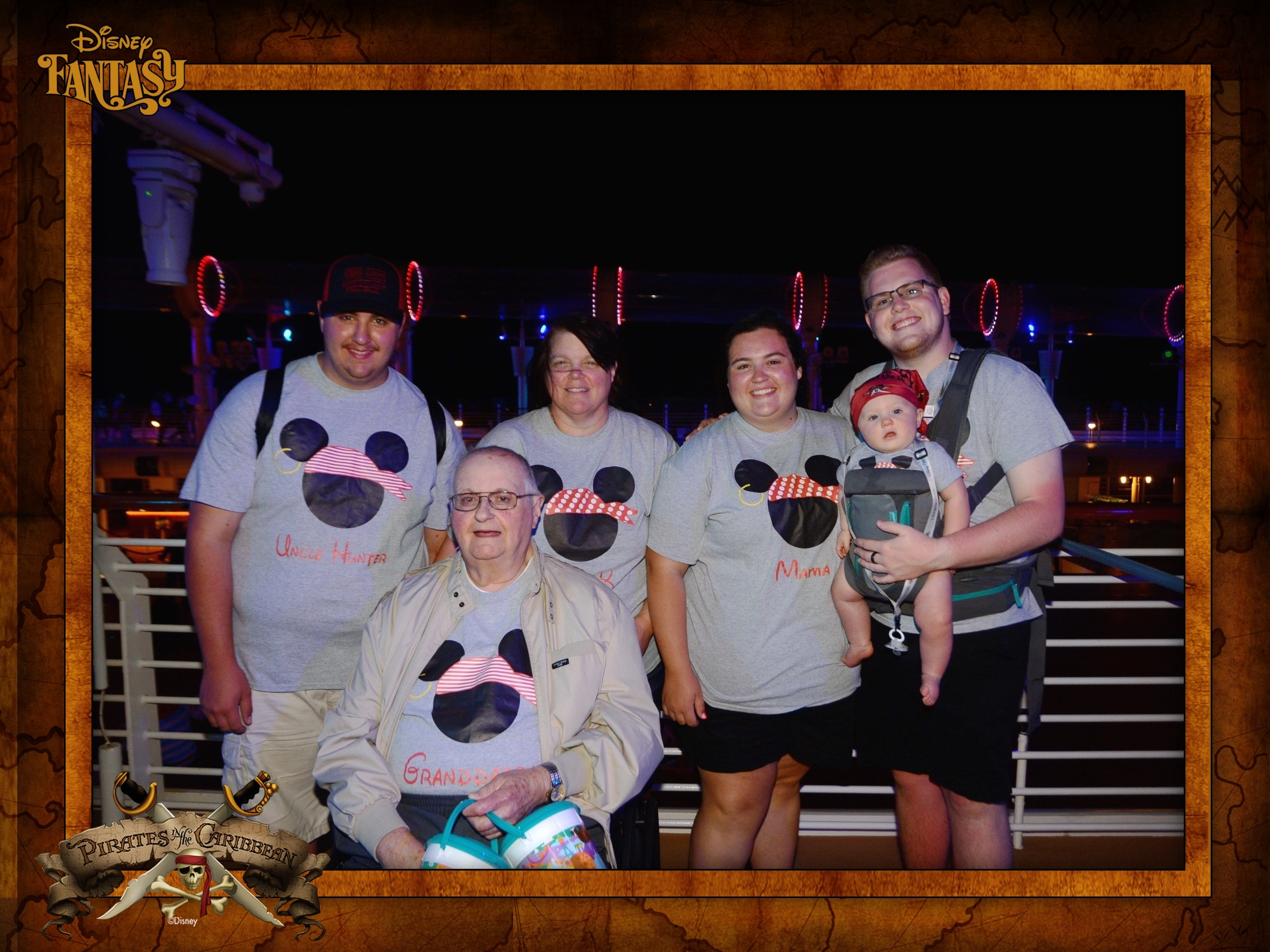 pack for a disney cruise with a baby