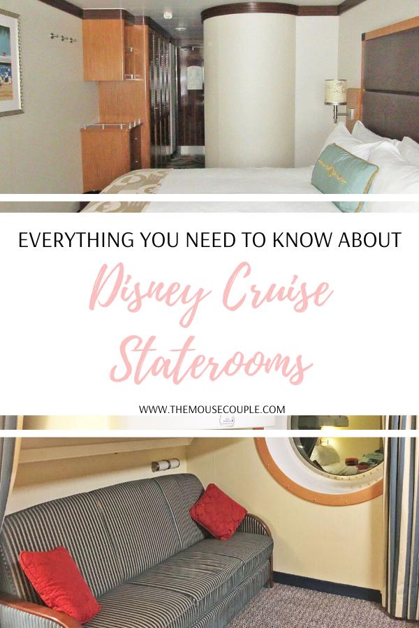 disney cruise staterooms