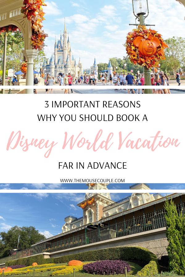 book a disney world vacation